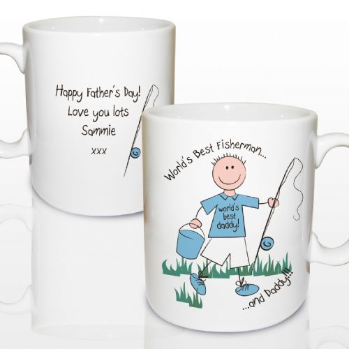 Personalised World's Best Fisherman Mug